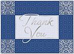 Classic Thank You Card X47D-X