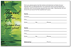 Referral Request Postcard X58P-Z