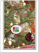 Ornament Logo Card DX01U-4B