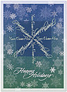 Snowflake Custom Card DX03U-4B