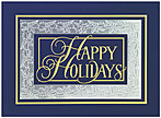 Classic Holly Border Holiday Card X544S-4A