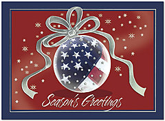 Patriotic Christmas Cards