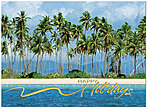 Tropical Holiday Greeting Card X565U-AA