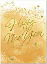 Starry New Year Greeting Card X572U-AA