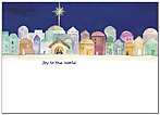 Joy to the World Christmas Card X582D-A