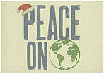 Peace on Earth Holiday Card X604KW-AA