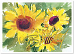 Sunflowers Birthday Card 105G-W