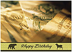 Bonds Birthday Card 123U-X