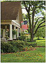 Patriotic Home Birthday Card 127U-X