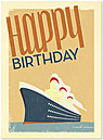 Ships Ahoy Birthday Card 140U-Y