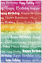 Happy Birthday Rainbow Postcard 152P-Z