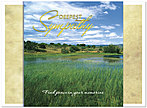 Finding Peace Sympathy Card 155U-X