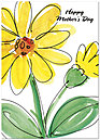 Mother's Day Daisy Greeting Card 159D-Y