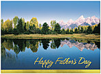 Scenic Father's Day Greeting Card 161U-X