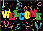 Welcome Party Greeting Card 179U-Y