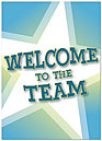 Welcome to the Team Greeting Card 180D-Y
