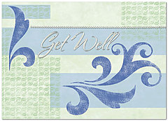 Get Well Greeting Card 182D-X