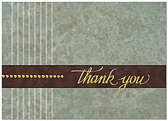 Corporate Thank You Card 184D-X