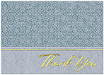 Patterned Thank You Card 185D-X
