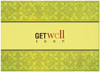 Organic Get Well Card 188KW-X
