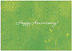 Green Anniversary Card 193KW-X
