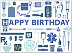 Medical Birthday Card 194U-Y