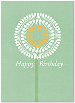 Tooth Flower Birthday Card 199D-Y