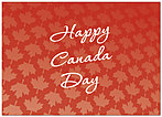 Happy Canada Day Card A1201D-Y