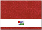 Red Logo Notecard D109D-V