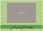 Classic Seasons Photo Card D1337U-4B