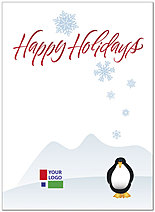 Penguin Logo Card D1357U-4B