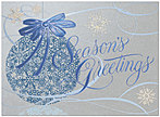 Silver Reflection Holiday Card H1270S-4A