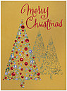 Christmas Trees Holiday Card H1272G-4A