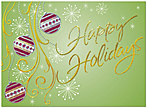 Holiday Cheer Greeting Card H1274G-AAA