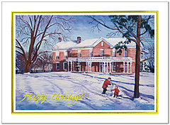Winter Day Holiday Card H1281G-AAA
