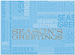 Season's Greetings Holiday Card H1286U-AA