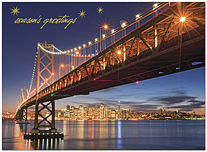 Golden Gate Greetings Holiday Card H1291U-AA