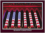 Wall Street Holiday Glow Card H1292U-AA