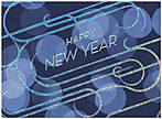 Retro New Year Card H1294U-AA