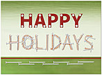 Holiday Construction Card H1295U-AA
