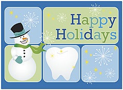 Dental Happy Holidays Card H1313U-A