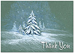Winter Magic Thank You Card H1318D-A