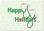 Holiday Stethoscopes Card H1320D-A