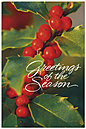 Holly Postcard H1323P-B