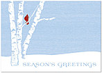 Birch Perch Holiday Card H1325KW-AA