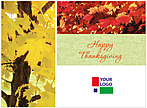 Colors of Fall Logo Card D1256U-4B