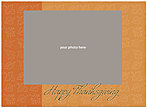 Leaf Pattern Photo Card D1268U-4B