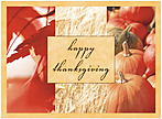 Happy Harvest Thanksgiving Card H1229U-A