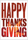 Happy Thanksgiving Card H1241KW-AA