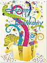 Magic Surprise Birthday Card A2000G-4W